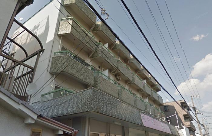物件番号: 1068124786 岩下マンション 大阪市東淀川区東中島5丁目 2DK マンション 外観写真