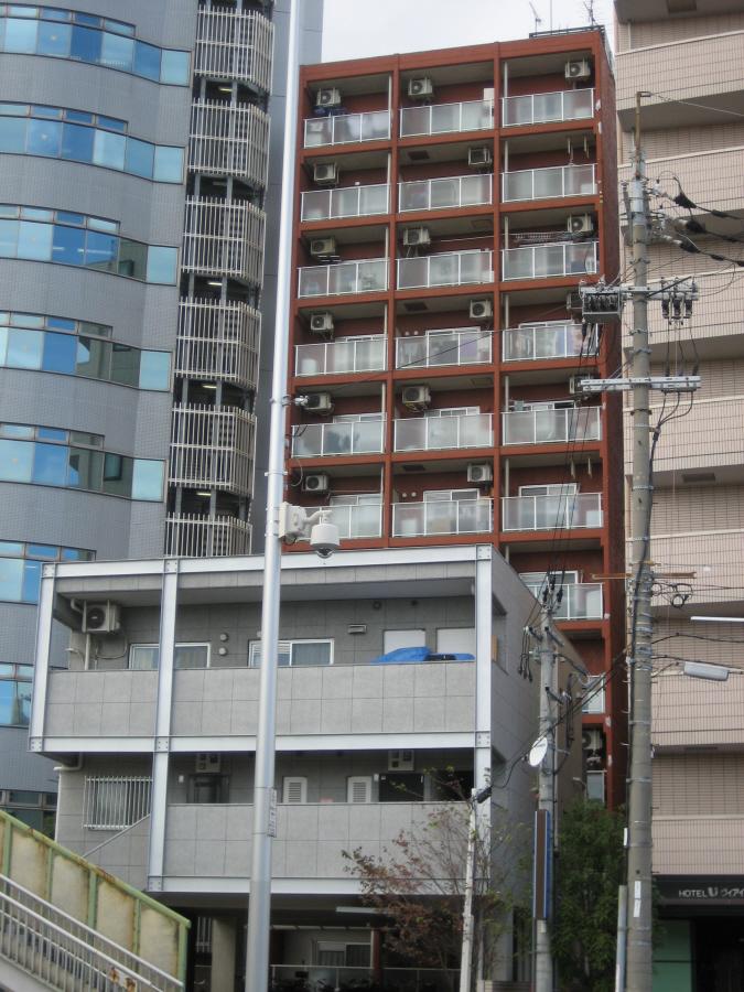 物件番号: 1068133320 ライオンズマンション新大阪 大阪市東淀川区西淡路1丁目 1DK マンション 外観写真