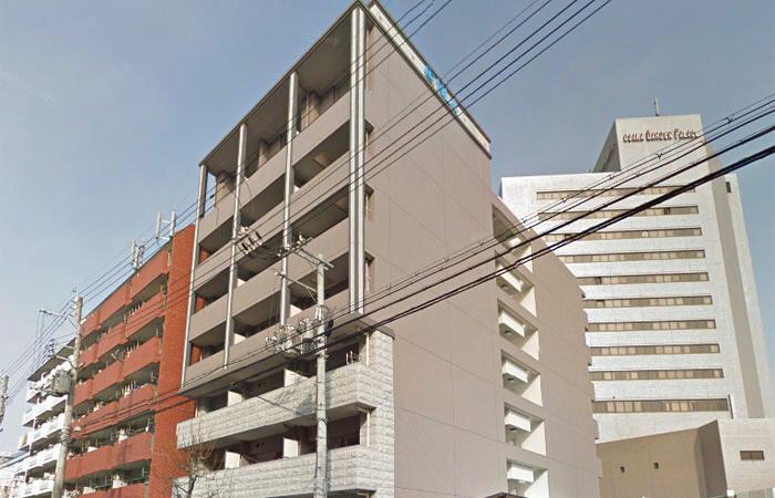 物件番号: 1068133863 MidCourt新大阪  大阪市淀川区西宮原1丁目 1LDK マンション 外観画像