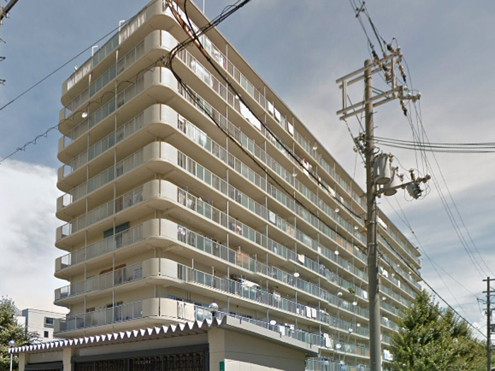 物件番号: 1068134376 新高レックスマンション 大阪市淀川区新高1丁目 2LDK マンション 外観写真
