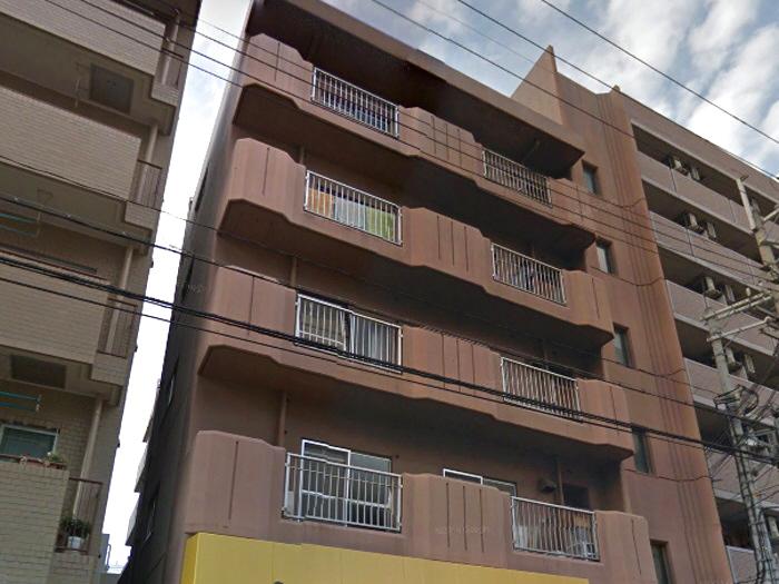 物件番号: 1068112852 新大阪ハイム 大阪市淀川区宮原2丁目 2DK マンション 外観写真