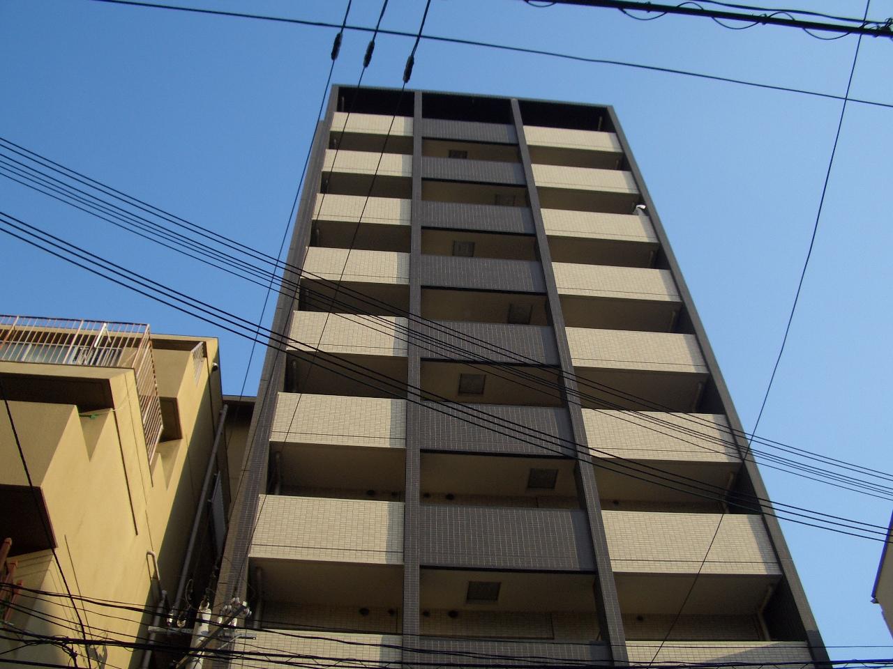 物件番号: 1068115545 エイペックス新大阪 大阪市淀川区西中島6丁目 1DK マンション 外観写真