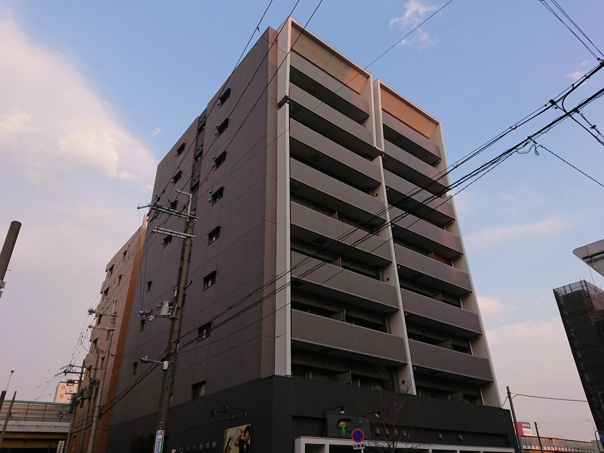物件番号: 1068103347 新大阪南グランドマンション 大阪市淀川区西中島2丁目 1K マンション 外観写真