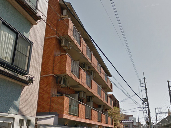 物件番号: 1068134782 マンション西 大阪市東淀川区小松1丁目 1DK マンション 外観写真