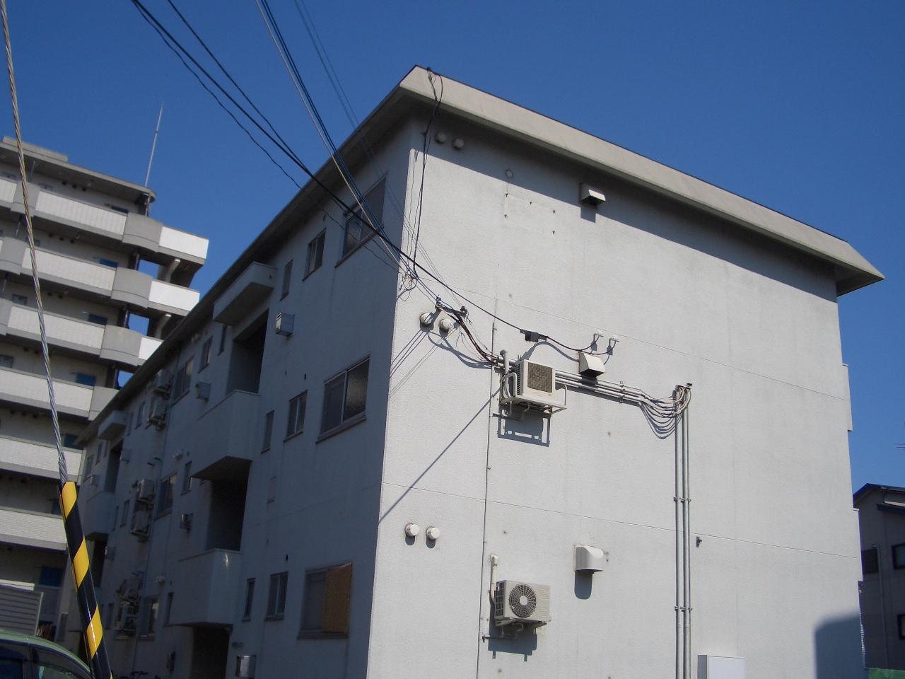 物件番号: 1068129926 第1中尾ハイツ 大阪市淀川区十八条2丁目 3LDK マンション 外観写真