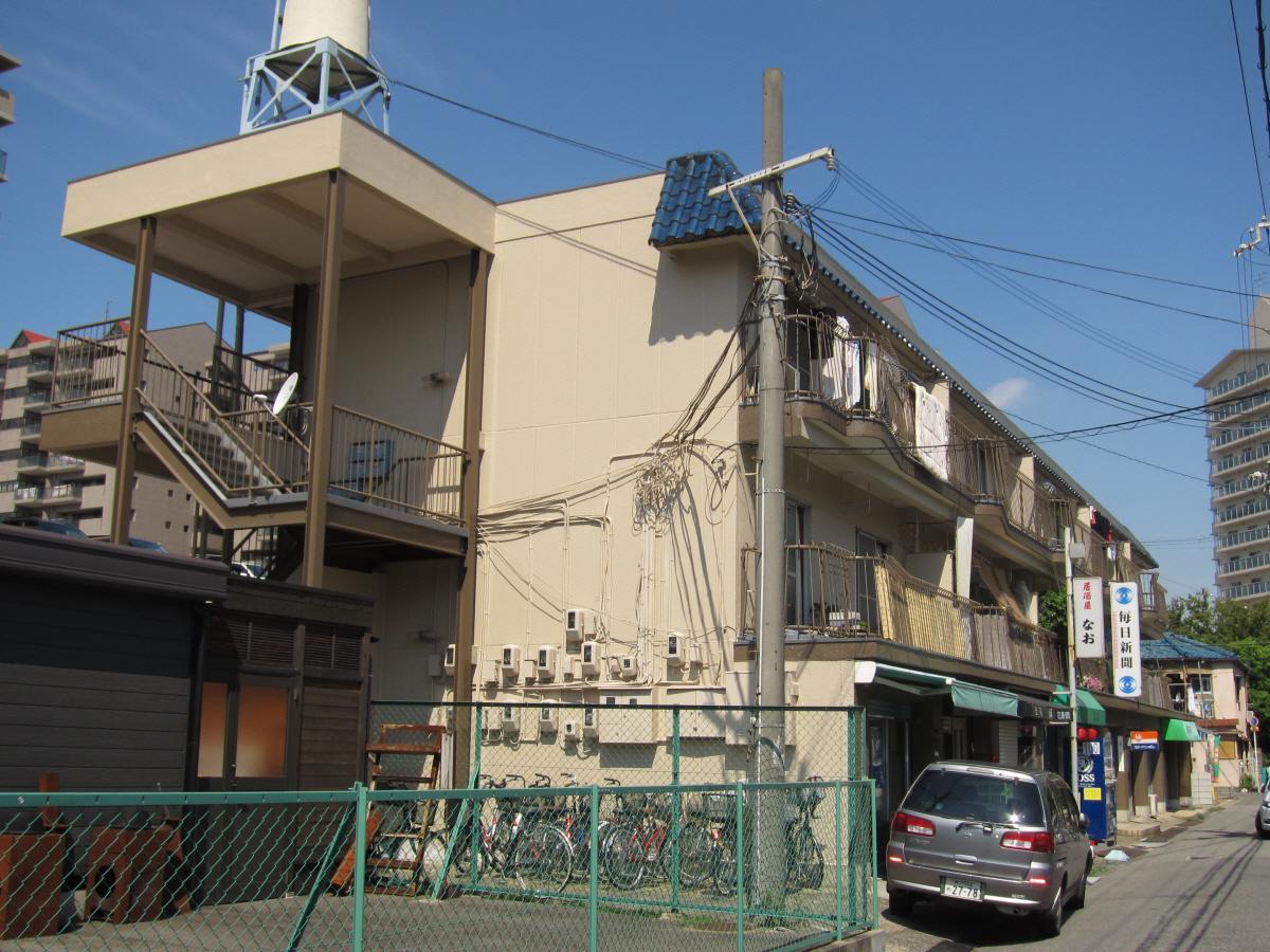 物件番号: 1068134434 新高マンション 大阪市淀川区新高6丁目 2DK マンション 外観写真