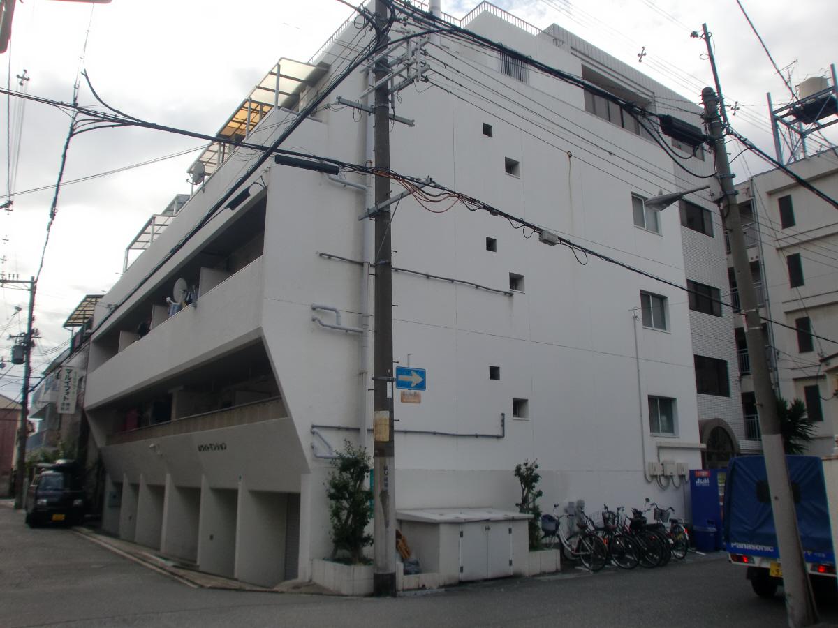 物件番号: 1068100947 ホワイトマンション  大阪市淀川区十三東3丁目 2DK マンション 外観画像